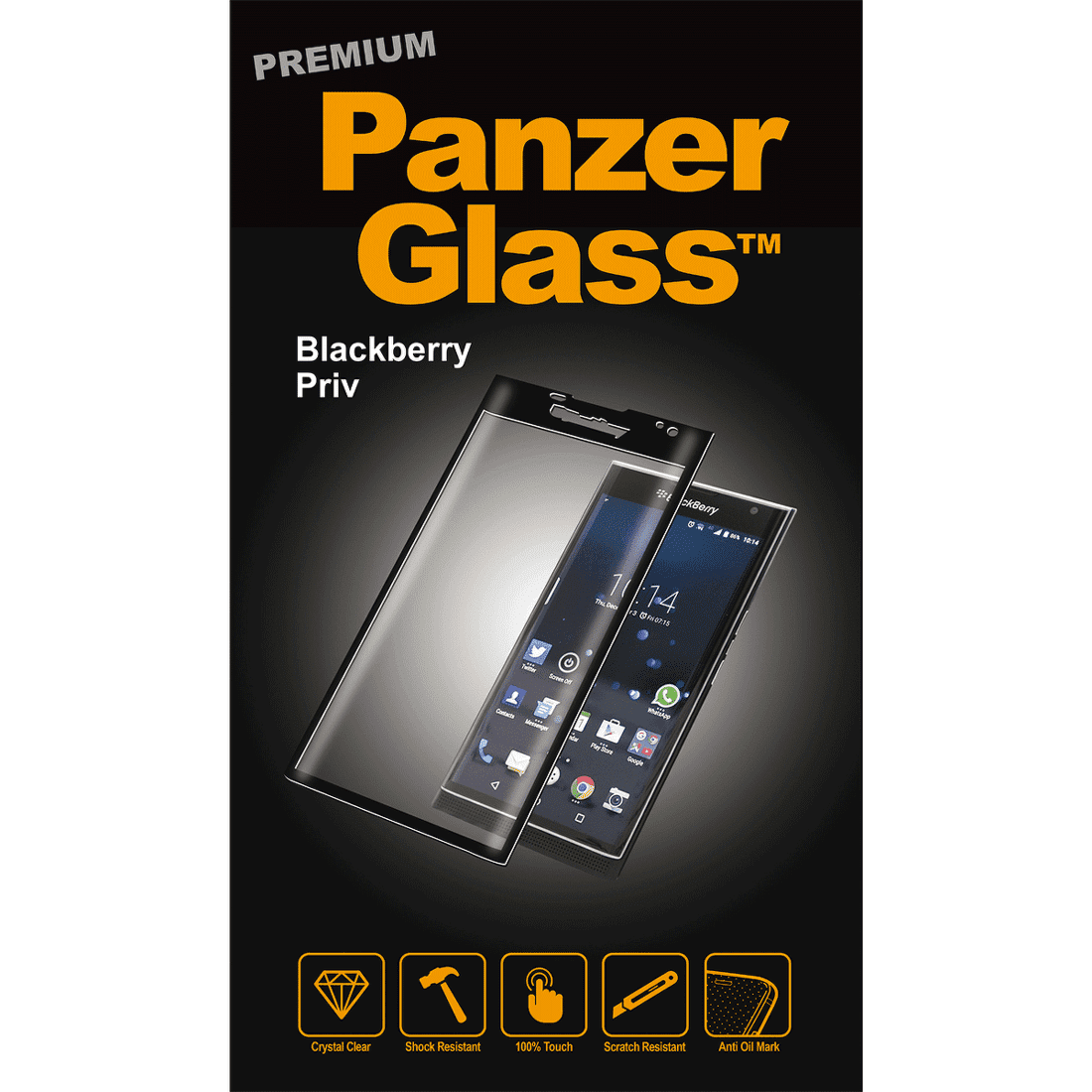 PanzerGlass 1092 sklo na Blackberry Privacy