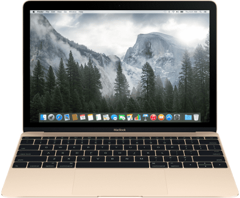 "Apple MacBook 12"" 512GB (zlatý) MK4N2CZ/A"