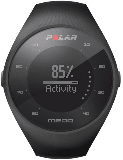 0eef13cbd70 Polar M200 M L černé + červený náhradní řemínek - chytré hodinky ...