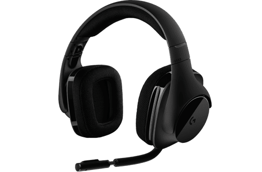 Logitech G533 Wireless Gaming Headset černý