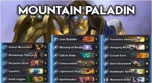 Balíček Mountain Paladin