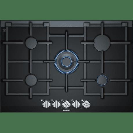 Siemens ER7A6RD70 - černá plynová varná deska