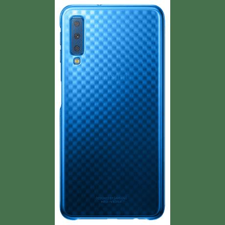 Samsung Gradation Cover zadní kryt pro Samsung Galaxy A7 2018, modrá