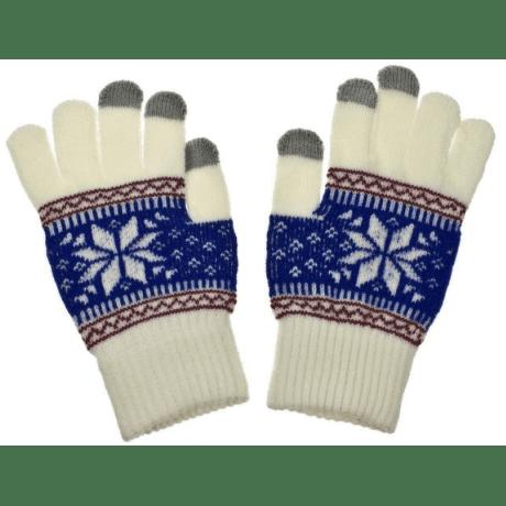Aligator Nordic dámské rukavice na displej, bílé