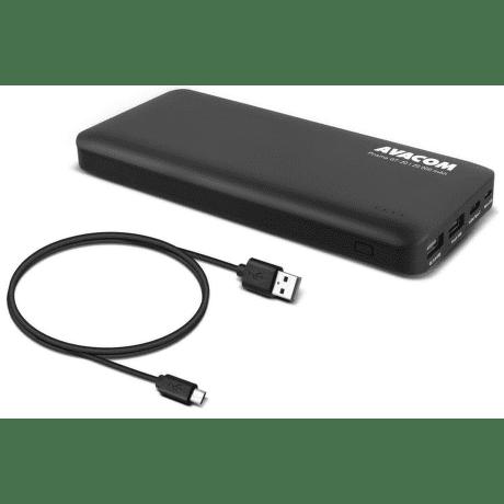 Avacom Prisma GT-20 QC powerbanka 20 000 mAh, černá