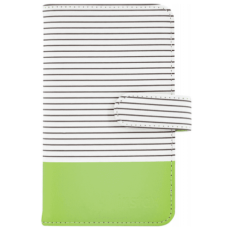 Fujifilm Instax Striped Mini album, limetkově zelená