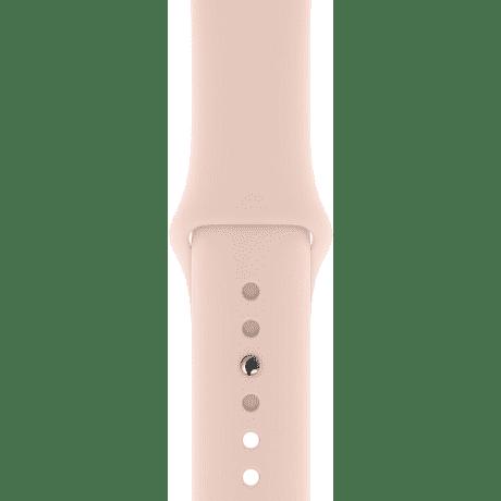 Apple Watch 40 mm sportovní řemínek, pískově růžový