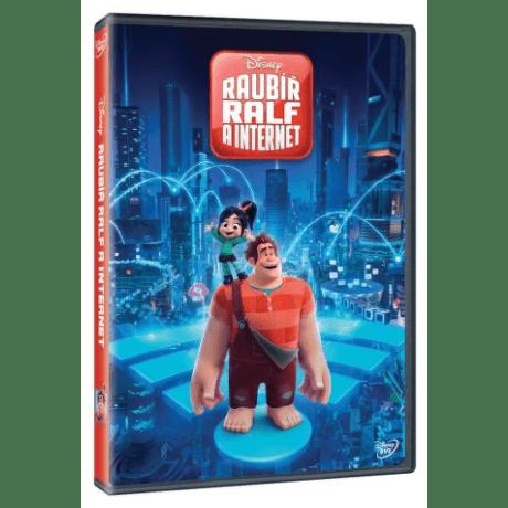 Raubíř Ralf a internet DVD