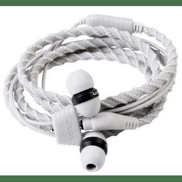 Wraps Talk Flint Kabelové sluchátka (šedo-bílé)