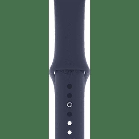 Apple Watch 44 mm sportovní řemínek, půlnočně modrý