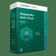 Kaspersky Antivirus 2017, pro 1PC/ 12 měsíců