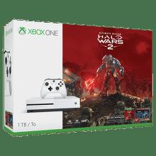 Microsoft Xbox One S 1 TB (bílá)+Halo Wars 2 Ultimate Edition