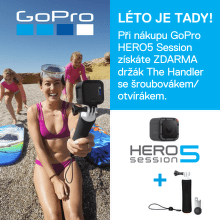 Dárek ke GoPro HERO5 Session v hodnotě 1 099 Kč