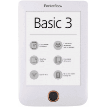 PocketBook 614+ Basic 3 bílá