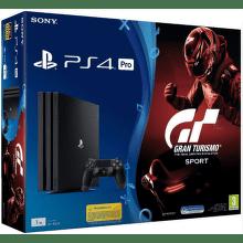 PlayStation 4 Pro, 1TB, černá + Gran Turismo Sport