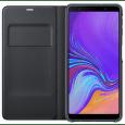 Samsung Wallet Case knížkové pouzdro pro Samsung Galaxy A7 2018, černá