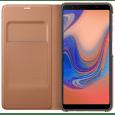 Samsung Wallet Case knížkové pouzdro pro Samsung Galaxy A7 2018, zlatá
