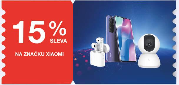 15 % sleva na značku Xiaomi